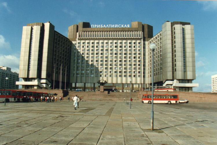 Pribaltiyskaya Hotel St Petersburg